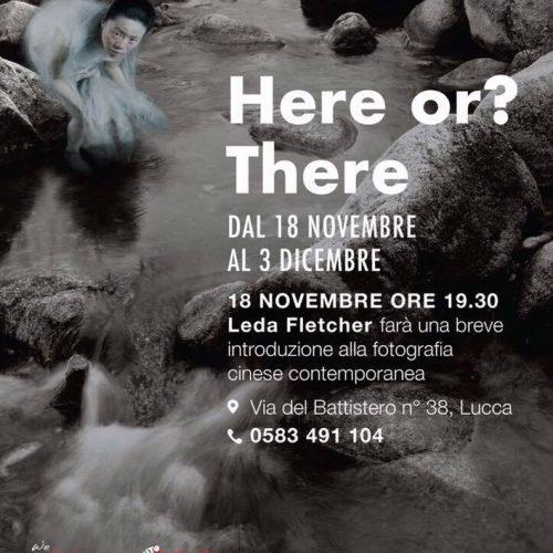 Lin Tianmiao - Wang Gongxin, 18/11/17, OlioSuTavola, Lucca